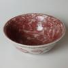 明代 釉裏紅 茶碗