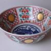 三浦竹泉 赤絵玉遊獅子鉢