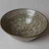 楠部彌弌三島茶碗