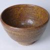長岡空権 柿釉茶碗