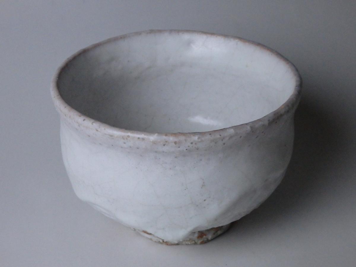 三輪休和萩茶碗「松風和」 (1)