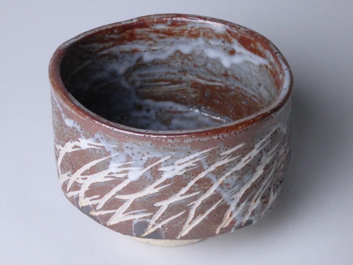 加藤卓男鼠志野茶碗 (1)