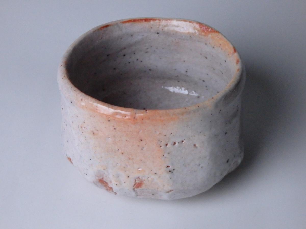 加藤唐九郎志野茶碗銘「無一物」 (1)