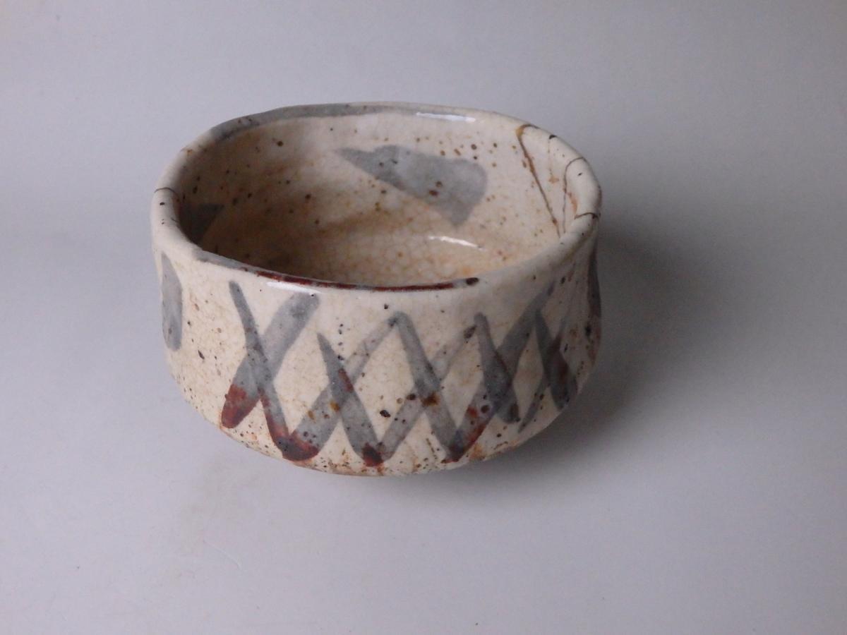 古絵志野茶碗 (3)