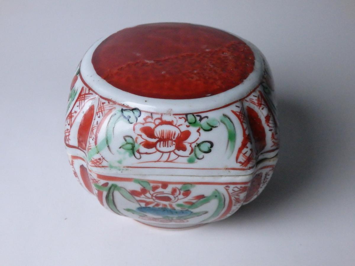 永楽和全赤絵食籠 (1)