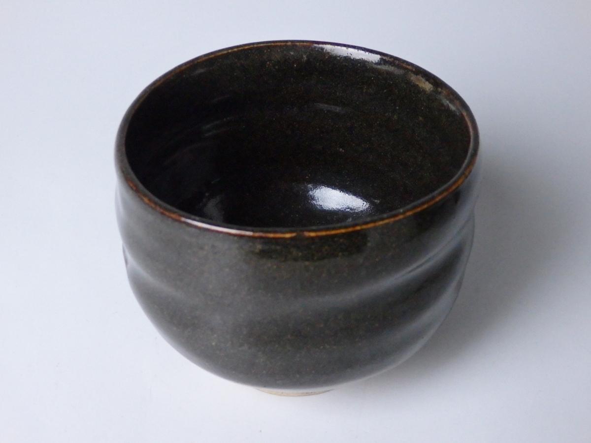 黒唐津小服茶碗 (1)